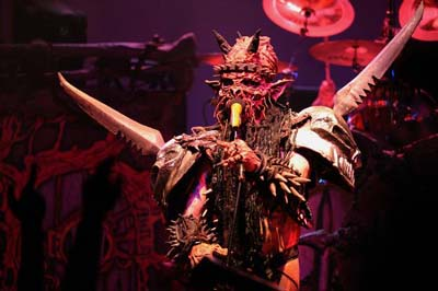 Gwar Interview | Singer Oderus Urungus on Bloody Pit of Horror | October 2010
