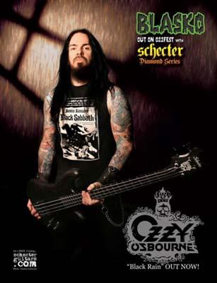 Blasko Interview: Ozzy Osbourne Bassist (2009)