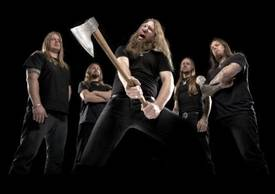 Amon Amarth band axe photo