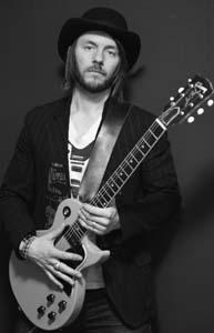 Clayton Bellamy gibson guitar