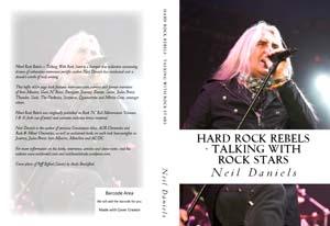 hard rock rebels talking with rock stars by Neil Daniels