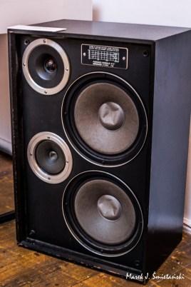 Kolumna głośnikowa ZG 40 C firmy Tonsil (połowa lat 70-tych)