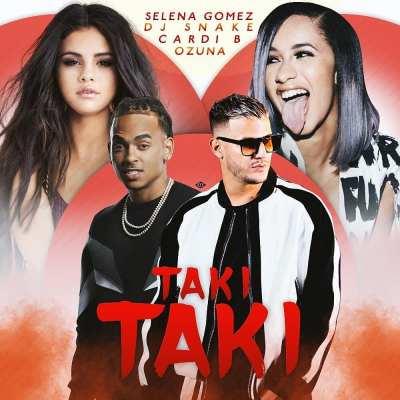 Resultado de imagen para Taki Taki Dj Snake ft Cardi B ft Ozuna ft Selena Gomez