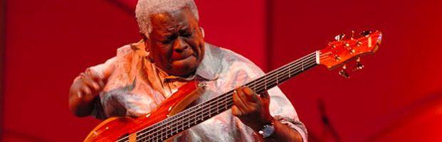 Abraham Laboriel is a master on bass