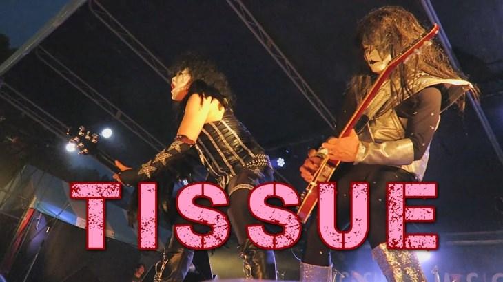 KISSの完コピバンド「TISSUE」 ♪Detroit Rock City(cover)ほか 鹿児島ミュージックフェスタ