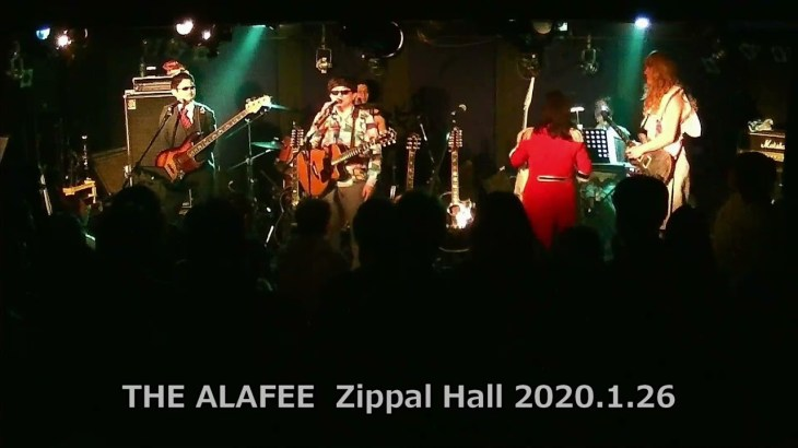 【THE ALFEE コピーバンド】<非公式版>THE ALAFEE 1st LIVE At Zippal Hall 2020.1.26