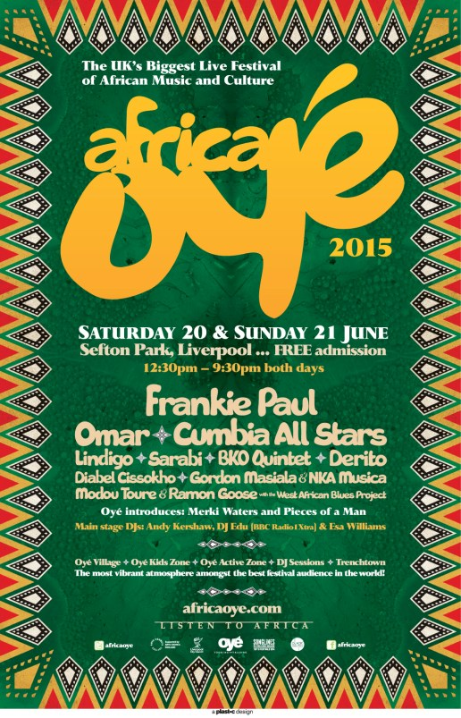 Africa Oye 2015: All You Need To Know Ahead Of The Weekend