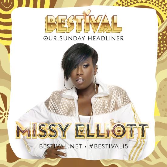 Missy Elliott To Headline Bestival 2015