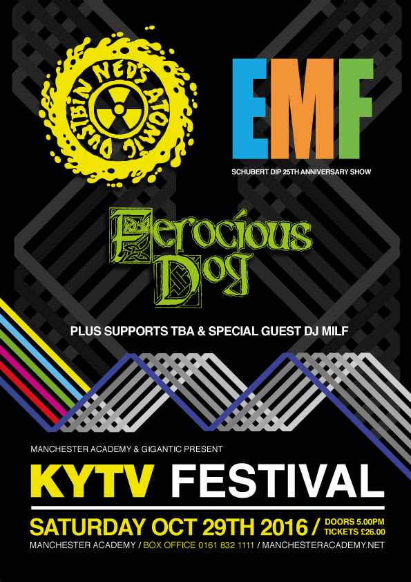 KYTV Festival 2016 - Announces special guests, EMF