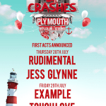 Rudimental, Jess Glynne, Example, Tough Love for MTV Crashes Plymouth
