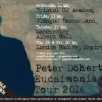 Peter Doherty announces more dates for Eudaimonia Tour