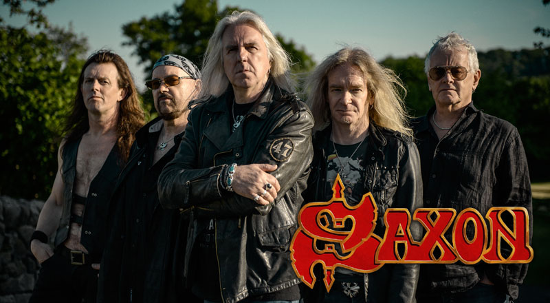 Saxon announce UK and Ireland Battering Ram Tour