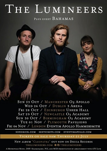 The Lumineers Announce Autumn UK Headline Tour