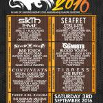 Macmillan Fest 2016 announced for Nottingham – 3rd September 2016