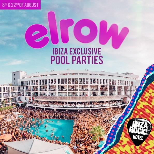 Elrow Exclusive Ibiza Pool Parties - Ibiza Rocks Hotel