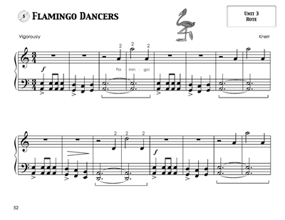 Piano Safari Repertoire