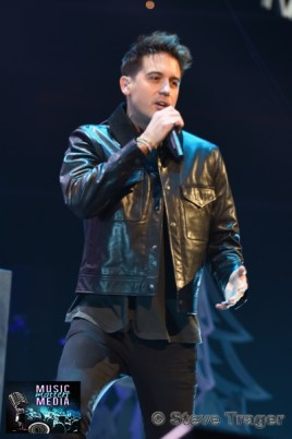 December 10, 2018 G Easy performs on stage as part of Hot 99.5's Jingle Ball 2018 Presented By Capital One at Capital One Arena on December 10, 2018 in Washington, DC (Photo By: Steve Trager/ The Photo Access )