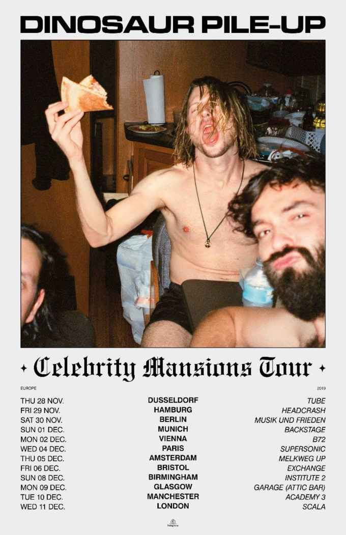 Dinosaur-Pile-Up-Celebrity-Mansions-UK-tour-2019