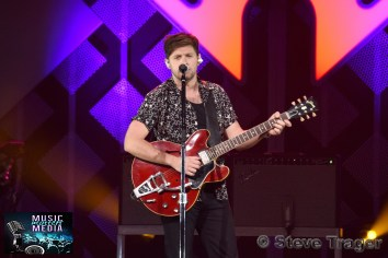 December 11, 2019 Niall Horan performs on stage as part of Q 102's Jingle Ball 2019 Presented By Capital One at The Wells Fargo Center on December 11, 2019 in Philadelphia, Pa. (Photo By: Steve Trager/ The Photo Access )