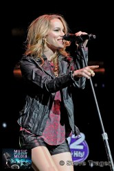 BRIDGIT MENDLER Q102 JINGLE BALL 2012 WELLS FARGO CENTER PHILADELPHIA PA 03
