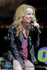 BRIDGIT MENDLER Q102 JINGLE BALL 2012 WELLS FARGO CENTER PHILADELPHIA PA 09