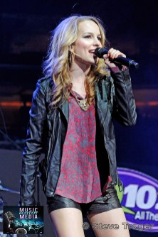 BRIDGIT MENDLER Q102 JINGLE BALL 2012 WELLS FARGO CENTER PHILADELPHIA PA 16
