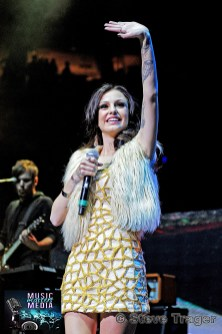 CHER LLOYD Q102 JINGLE BALL 2012 WELLS FARGO CENTER PHILADELPHIA PA 31