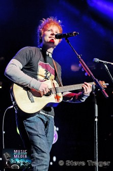 ED SHEERAN Q102 JINGLE BALL 2012 WELLS FARGO CENTER PHILADELPHIA PA 04