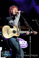 ED SHEERAN Q102 JINGLE BALL 2012 WELLS FARGO CENTER PHILADELPHIA PA 10