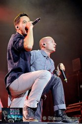 LINKIN PARK LIVE DURING THEIR HEADLINER TOUR IN 2012 38