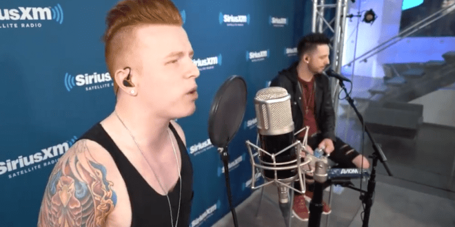 "From Ashes To New Cover Linkin Park's ""Heavy"" at SiriusXM"