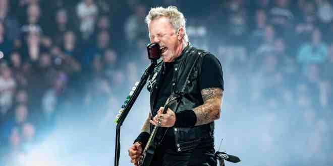 Metallica; Photo by Andrew Wendowski/Music Mayhem Magazine