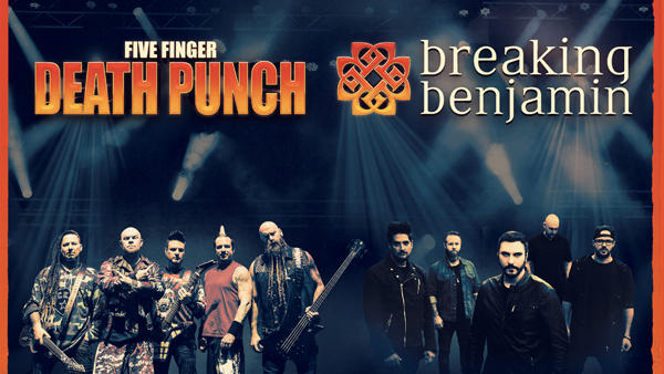 Five Finger Punch And Breaking Benjamin Kick Off M Ive Fall U S Arena Tour Music Mayhem Magazine