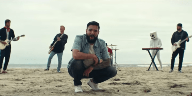 Watch Marshmello and A Day To Remember's New Collaborative Single