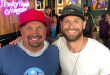 "Garth Brooks & Chase Rice on-set with ""Entertainment Tonight"" during CMA Fest 2019 in Downtown Nashville"