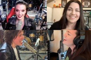 Halestorm's Lzzy Hale and Evanescence's Amy Lee