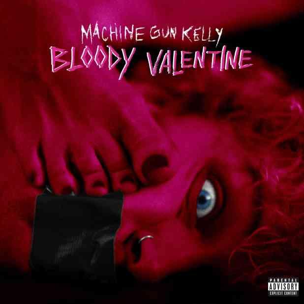 """Machine Gun Kelly """"Bloody Valentine"""" Single Artwork"""