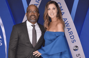 Darius Rucker and Beth Leonard; Photo by Michael Loccisano/Getty Images
