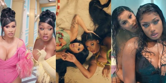 Cardi B And Megan Thee Stallion Drop New Song Wap With Steamy Star Studded Music Video Music Mayhem Magazine