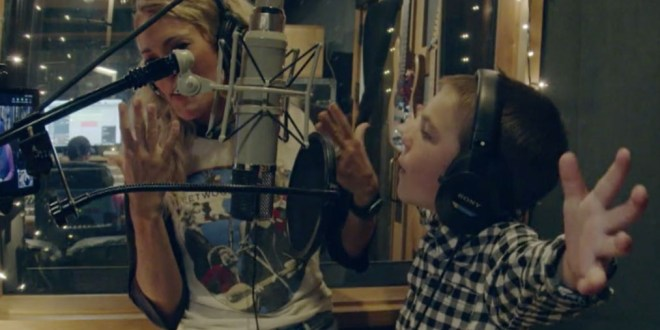 Carrie Underwood and 5-Year-Old Son Isaiah; Photo Courtesy of TODAY Show