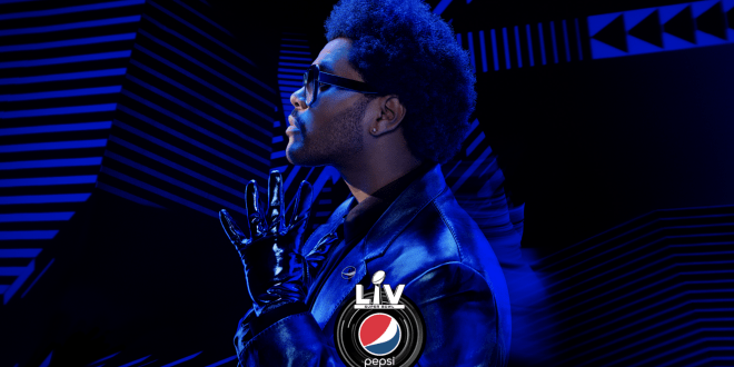 The Weeknd; Photo Courtesy of NFL
