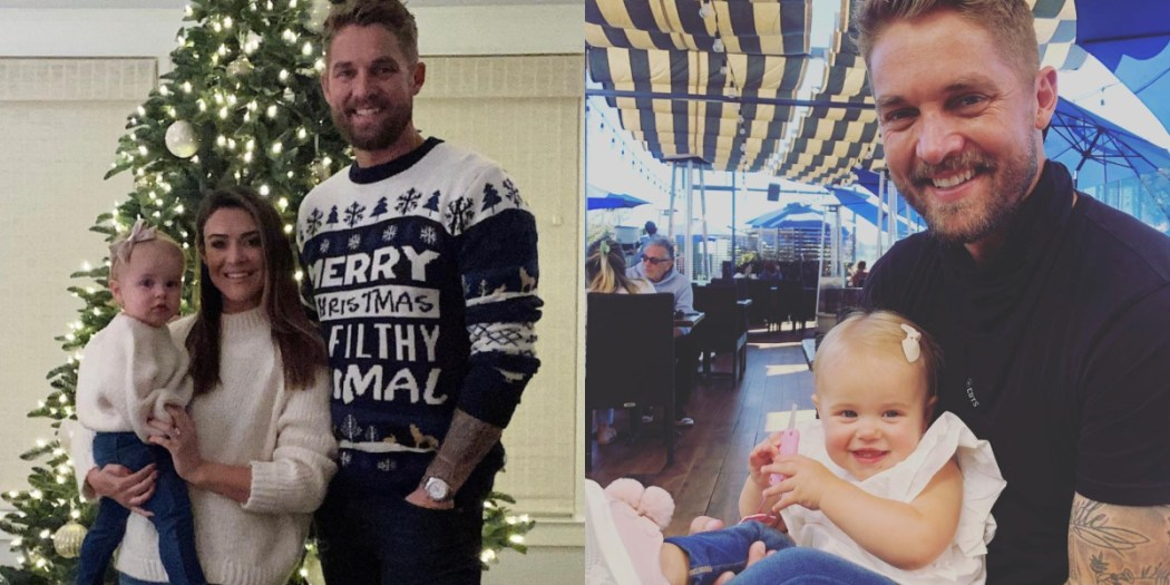 Brett Young, Taylor Mills Young and Presley Elizabeth Young; Photos Courtesy of Instagram