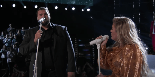 Jake Hoot And Kelly Clarkson; Photo Courtesy Of The Voice