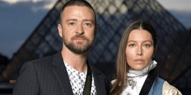 Justin Timberlake And Jessica Biel; Photo Courtesy of Timberlake's Instagram