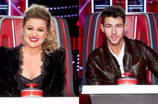 Kelly Clarkson And Nick Jonas; Photo Courtesy of NBC