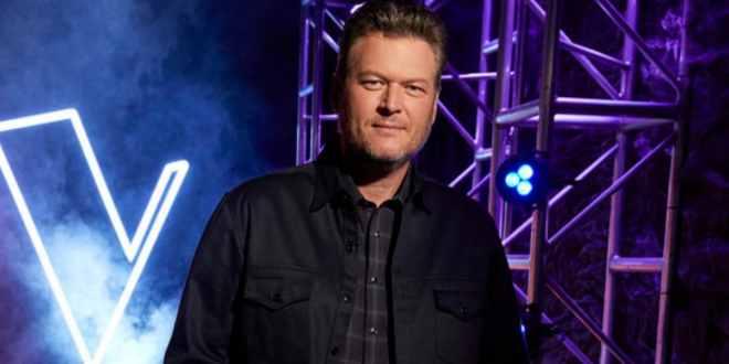 Blake Shelton; Photo Courtesy of NBC