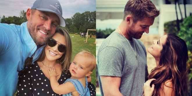 Brett Young and Taylor Mills Young; Photo Courtesy of Instagram