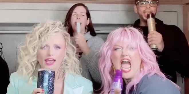 Miranda Lambert, Elle King and Glam Team; Photo Courtesy of Instagram