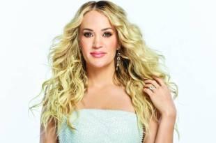 Carrie Underwood; Photo by Jeremy Cowart