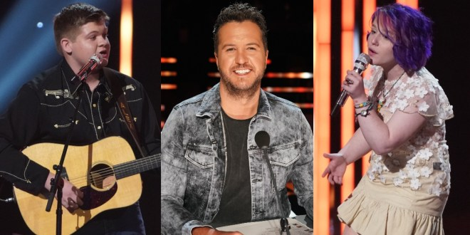 Alex Miller, Luke Bryan And EmiSunShine; Photo Courtesy of ABC